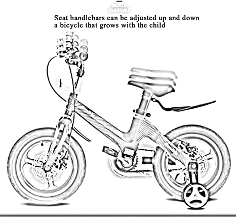 TD Bicicleta para Niños Niño 14 Pulgadas 2-11 Años De Edad Bebe ...