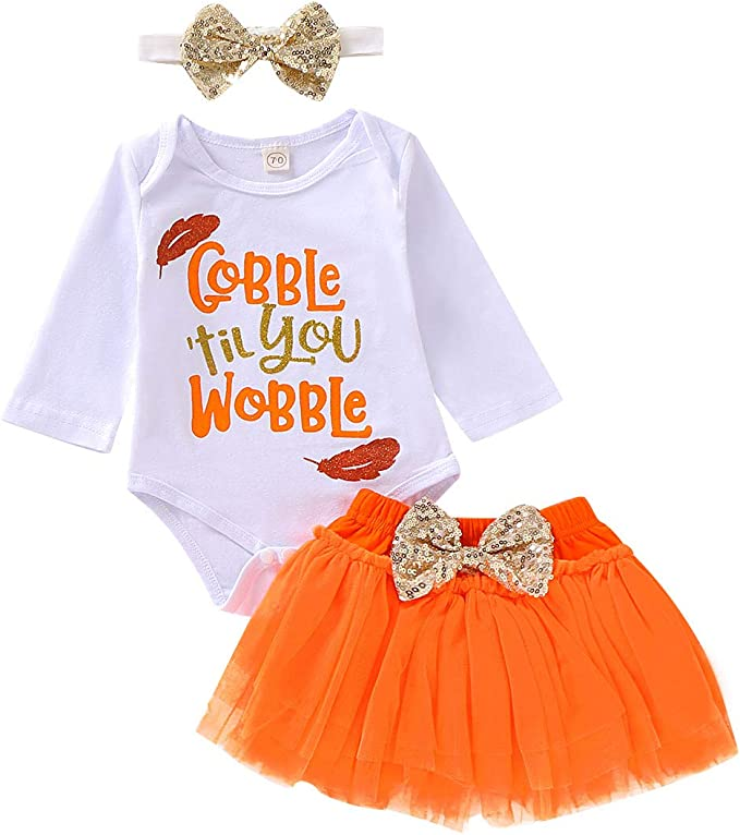 Amazon.com: Conjunto de trajes de Navidad para bebés y niñas ...