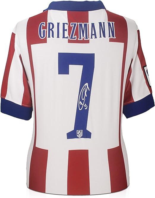 Camiseta de fútbol Atlético de Madrid firmada por Antoine ...