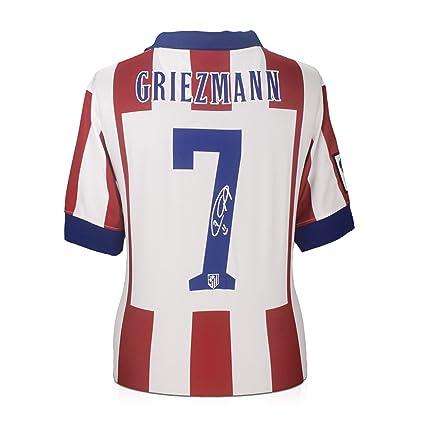 Antoine Griezmann Signed Atletico Madrid Soccer Jersey