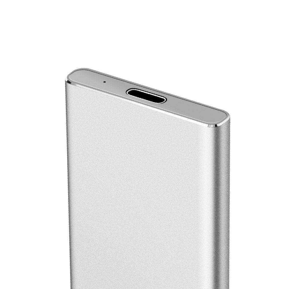 KINGSHARE S8 SSD 480GB USB3.0 Type C External Solid State Drive Portable SSD with UASP Support-Silver (480GB) by KINGSHARE (Image #4)