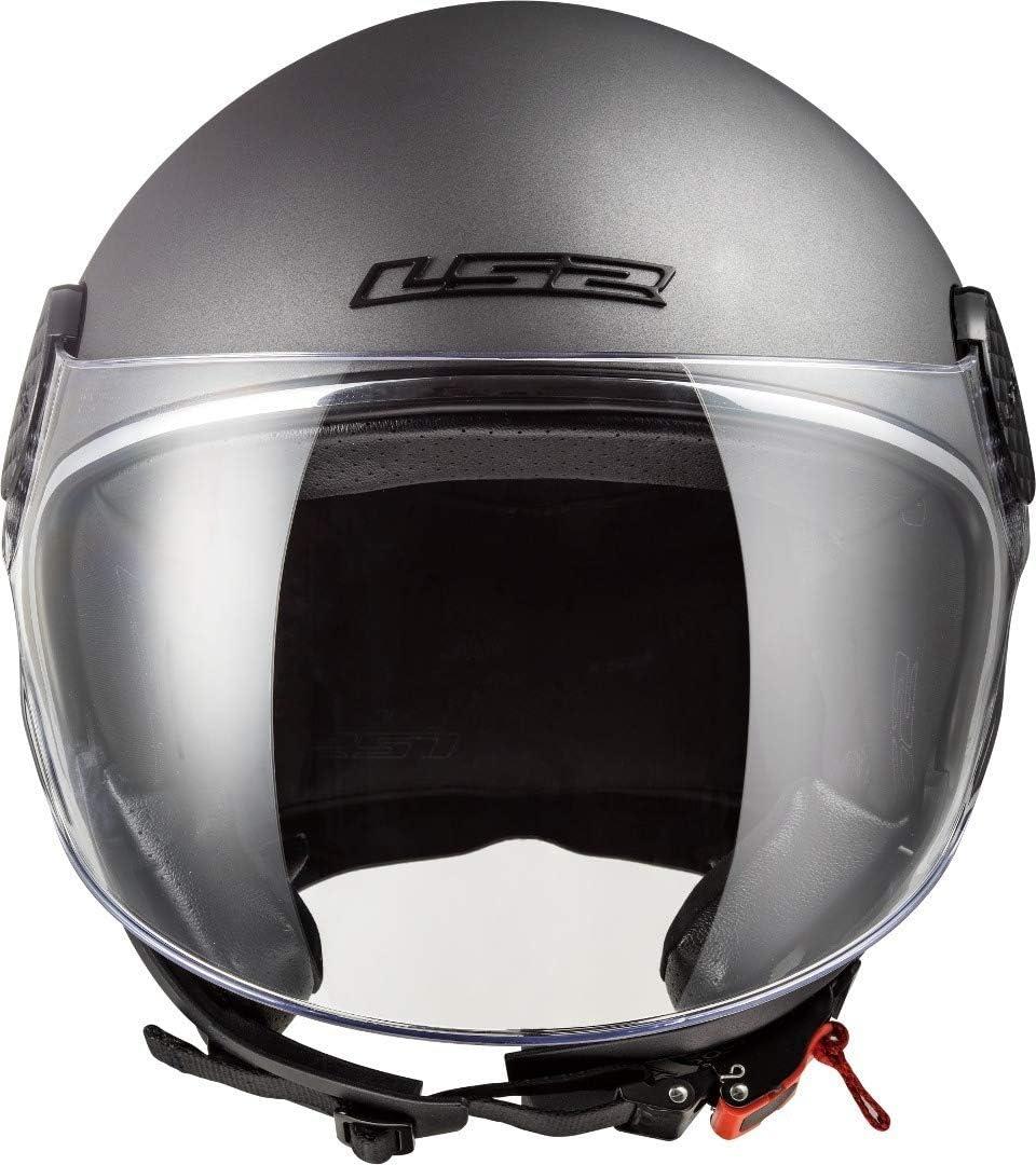 LS2 Casque moto OF558 SPHERE LUX MATT HI VIS Jaune XS Jaune