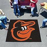FANMATS - 15175 - FanMats MLB - Baltimore Orioles Cartoon Bird Tailgater Rug 60x72