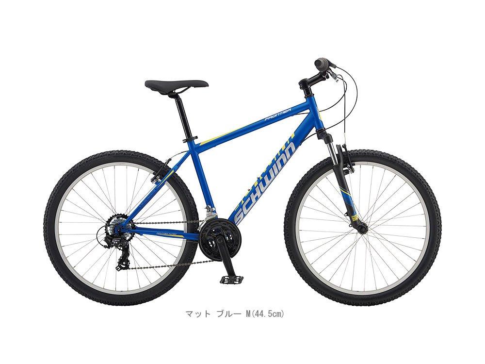 SCHWINN(シュウィン) 17'FRONTIER(フロンティア) MTB26マットブルー B01MDPAK67XS(33cm)