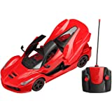 Zest 4 Toyz Remote Controlled Rechargeable Ferrari Like Car With Opening Doors - Multi Color