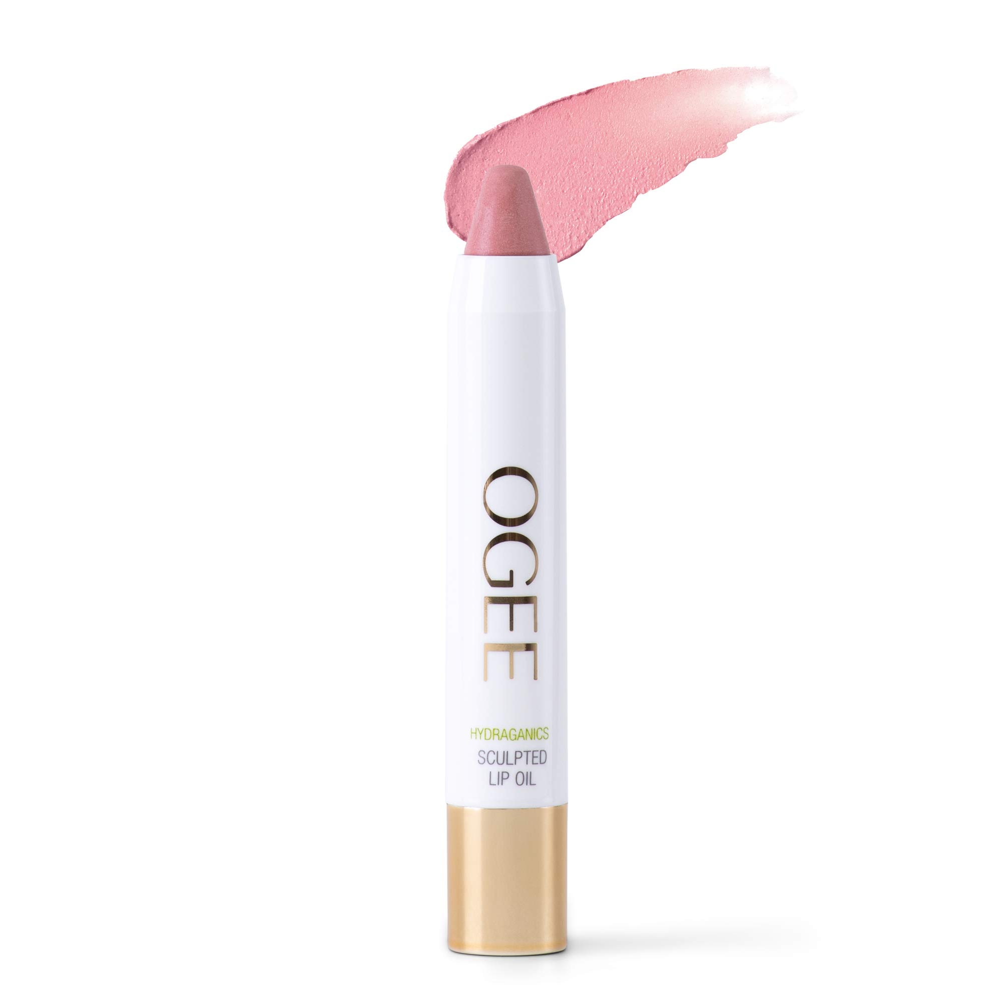 Ogee Sculpted Tinted Lip Oil - Organic & Natural Lip Primer, Moisturizer & Treatment Balm - Magnolia (White Pink Color) by Ogee