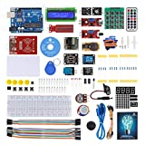 SunFounder Project RFID Starter Kit for Arduino Beginners with Uno R3, LCD1602, Servo, Stepper Motor for Arduino Mega2560