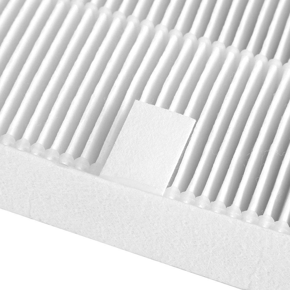 Parti di ricambio purificatore daria 1 filtro netto 4 tessuto filtrante in carbonio adatto per rimuovere gli allergeni fumo polvere Pet Dander odore completo torre filtro dellaria Home Office per Wi