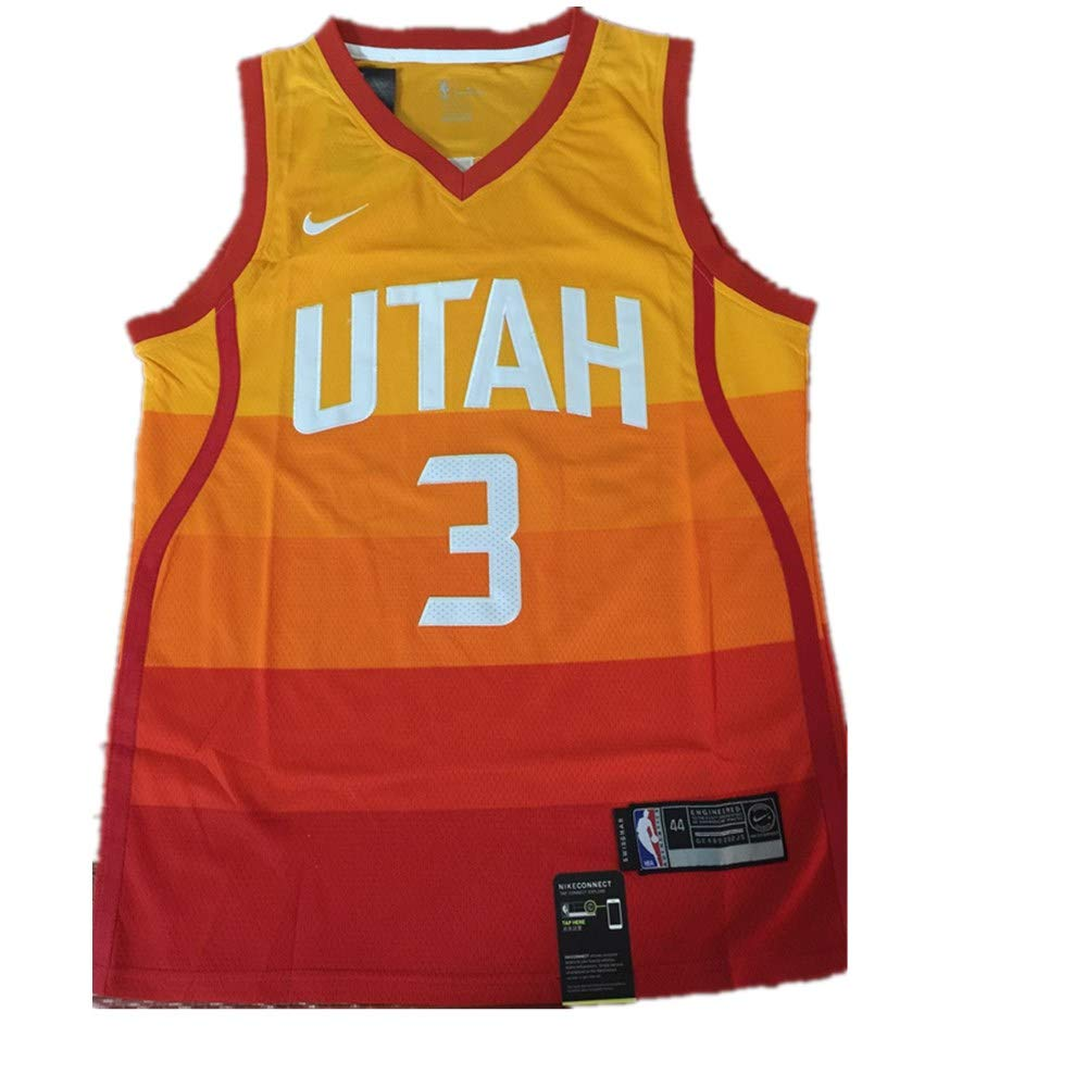 Amazon.com: Mens Utah #3 Rubio Replica Swingman Jersey - Icon Edition: Clothing