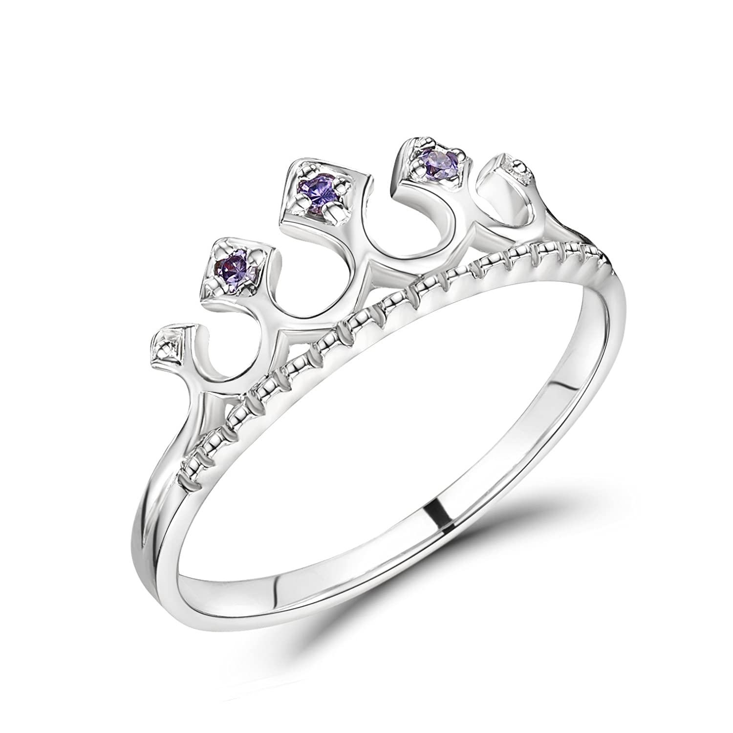 Jo for Girls-Couronne Princesse-Argent 925/1000–Taille 50