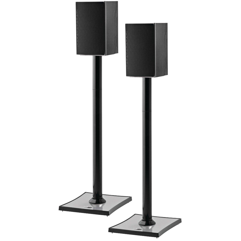 OmniMount GEMINI2B Bookshelf Speaker Stand, Black by OmniMount