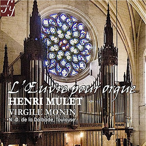 Price comparison product image Works for Organ - Virgile Monin, organ by Henri Mulet