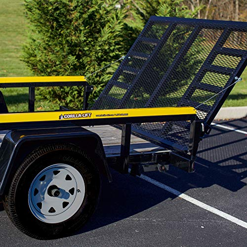 (Gorilla-Lift 2-Sided Tailgate Lift Assist – Easily Raise and Lower Your Tailgate With One Hand -Model 40101042GS)
