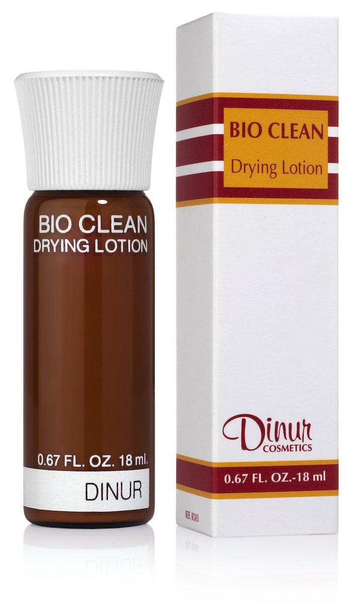 Dinur Cosmetics Bio Clean Drying Lotion.67 fl. oz. by Dinur Cosmetics