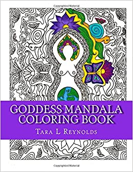 Amazoncom Goddess Mandala Coloring Book 9781530785919 Tara L