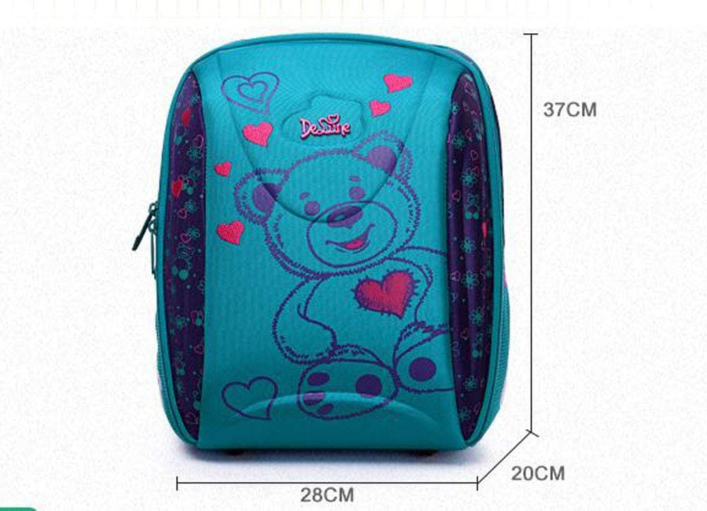 Edition : 7-104 LIAN High-end Childrens School Bag Primary School Backpack Hard Shell Large Capacity