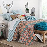 Rod's Western Aztec Diamond Quilt with Horse Pillows, Twin