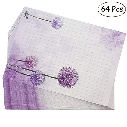 amazon com bolbove 64 pcs lovely plant elegant dandelion letter