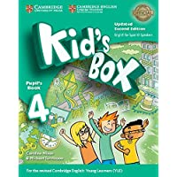 Kid's Box Level 4 Pupil's Book Updated English for Spanish Speakers Second Edition - 9788490365366