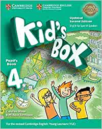 Kid's Box Level 4 Pupil's Book Updated English for Spanish