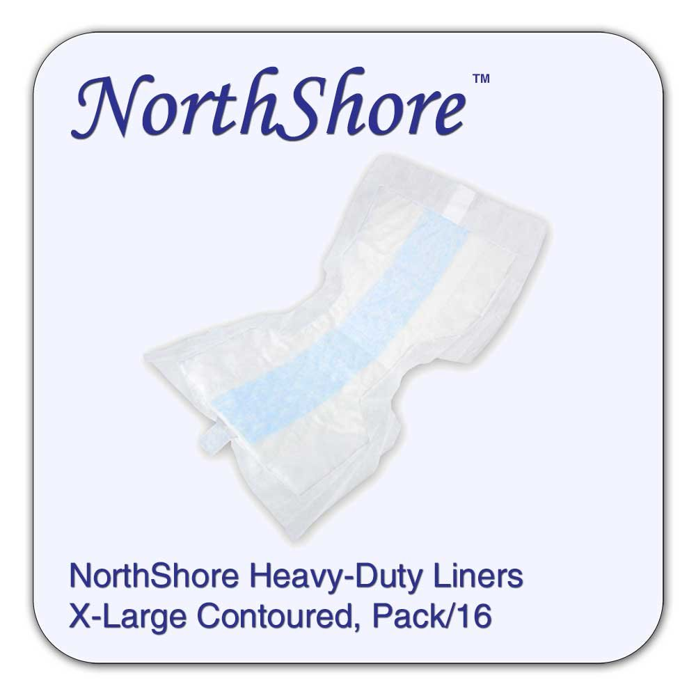 NorthShore Heavy-Duty Liners, X-Large, Pack/16