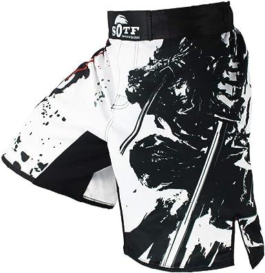 SOTF Short de boxe MMA pour homme