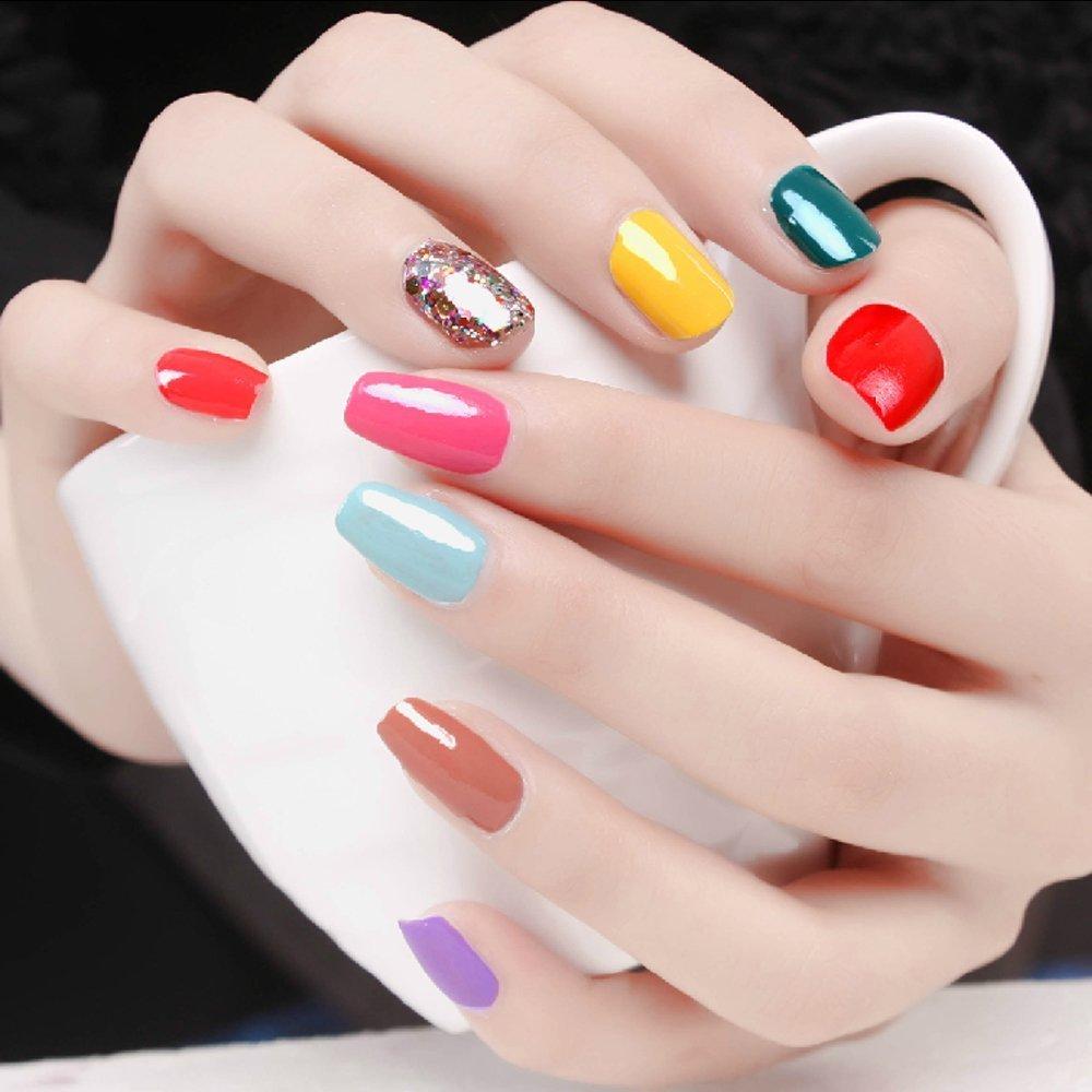 Perfect Summer 10ml Esmaltes de Uñas Semi Permanente Gel Polish Soak Off UV LED Nail Art Manicura #105: Amazon.es: Belleza