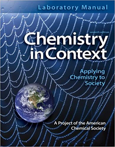 Laboratory manual chemistry in context american chemical society laboratory manual chemistry in context 7th edition fandeluxe Images