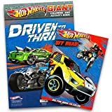 Best Hot Wheels Book For 3 Year Old Boys - Hot Wheels Coloring Book Set (2 Books) Review