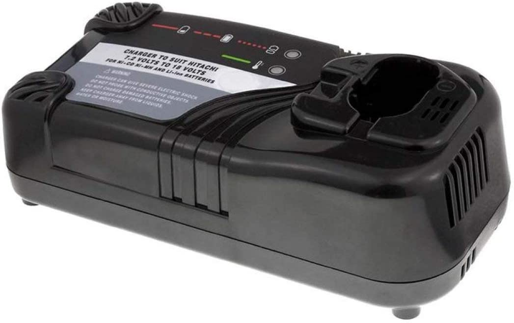 Powery Chargeur pour Batterie Hitachi visseuse a Percussion WH12DM Chargeurs pour Outil /électroportatif 7,2V-18V
