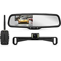 AUTO-VOX T1400 Upgrade Wireless Backup Camera Kit, Easy Installation with No Wiring, No Interference, OEM Look with IP…