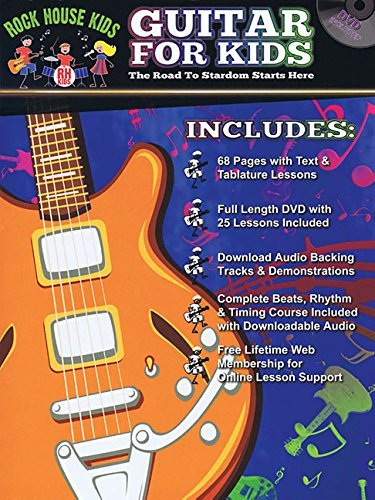 Rock House Kids - Guitar For Kids Book/Dvd Online Audio by John McCarthy (2015-08-01)