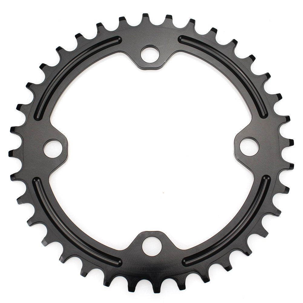 FOMTOR 36T Chainring 96 BCD Single Narrow Wide Chainring Fit for XTR,XT,SLX Series Crank