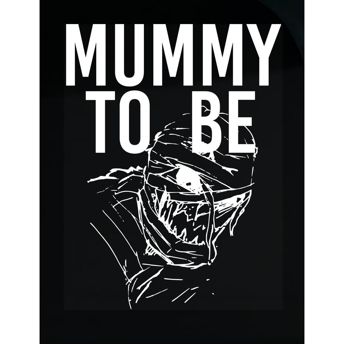 Mummy To Be Halloween Pregnancy Maternity Mom Mother - Sticker
