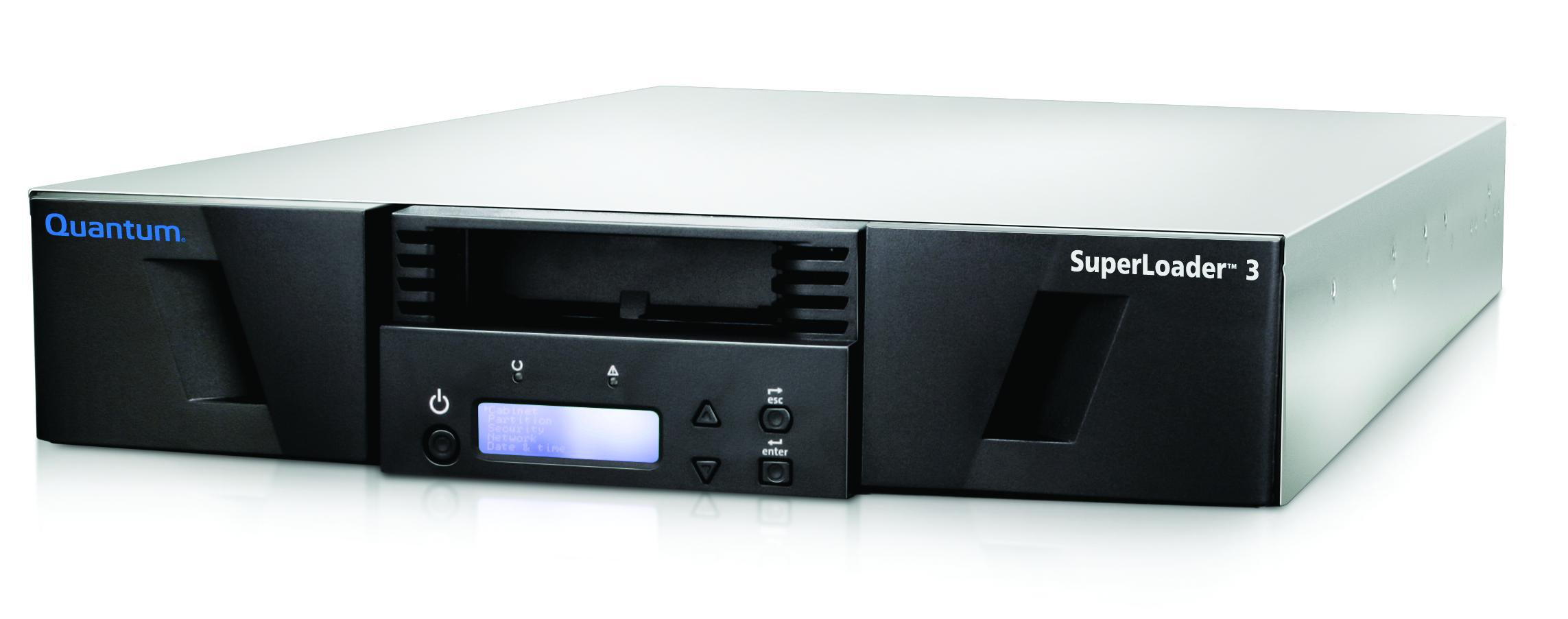 QUANTUM SUPERLOADER 3, ONE LTO-7HH TAPE DRIVE, MODEL C, 16 SLOTS, 6GB/S SAS, RAC by Quantum