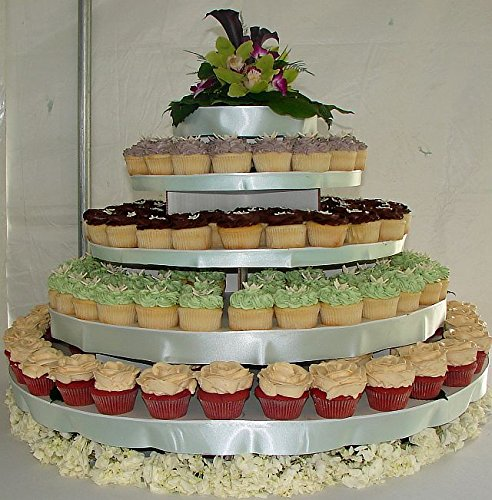 Cupcaketree Com Large Round Cupcake Stand Holds Up To 300