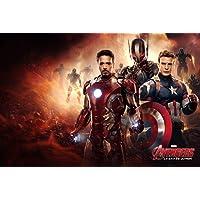 Puzzle House Avengers Poster, rompecabezas de madera, Stills de la película Infinity War, Basswood Perfect Cut & Fit, 300/1000 Piezas en caja Fotografía Juguetes Juego Arte Pintura para adultos y niño