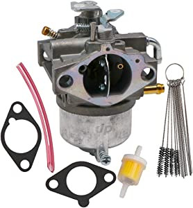 KIPA Carburetor for Kawasaki 15003-2349 FC420V 4 Stroke Engines Mower with Gaskets Carbon Dirt Jet Cleaner Tool Kit Fuel Filter