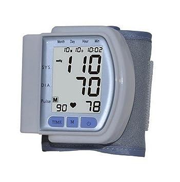 hrrh Full Automatic LCD Digital inteligente medidor de presión sanguínea electrónica certificación CE Tipo de Pulso sphygmomanometer detectores instrumento ...