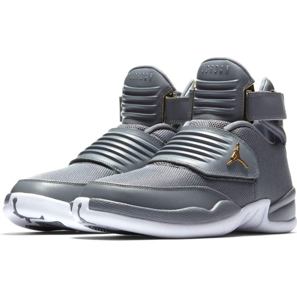 NIKE Jordan Generation 23 Mens Fashion-Turnschuhe AA1294-004_10.5 - Cool grau Cool grau-Weiß-Metallic Gold