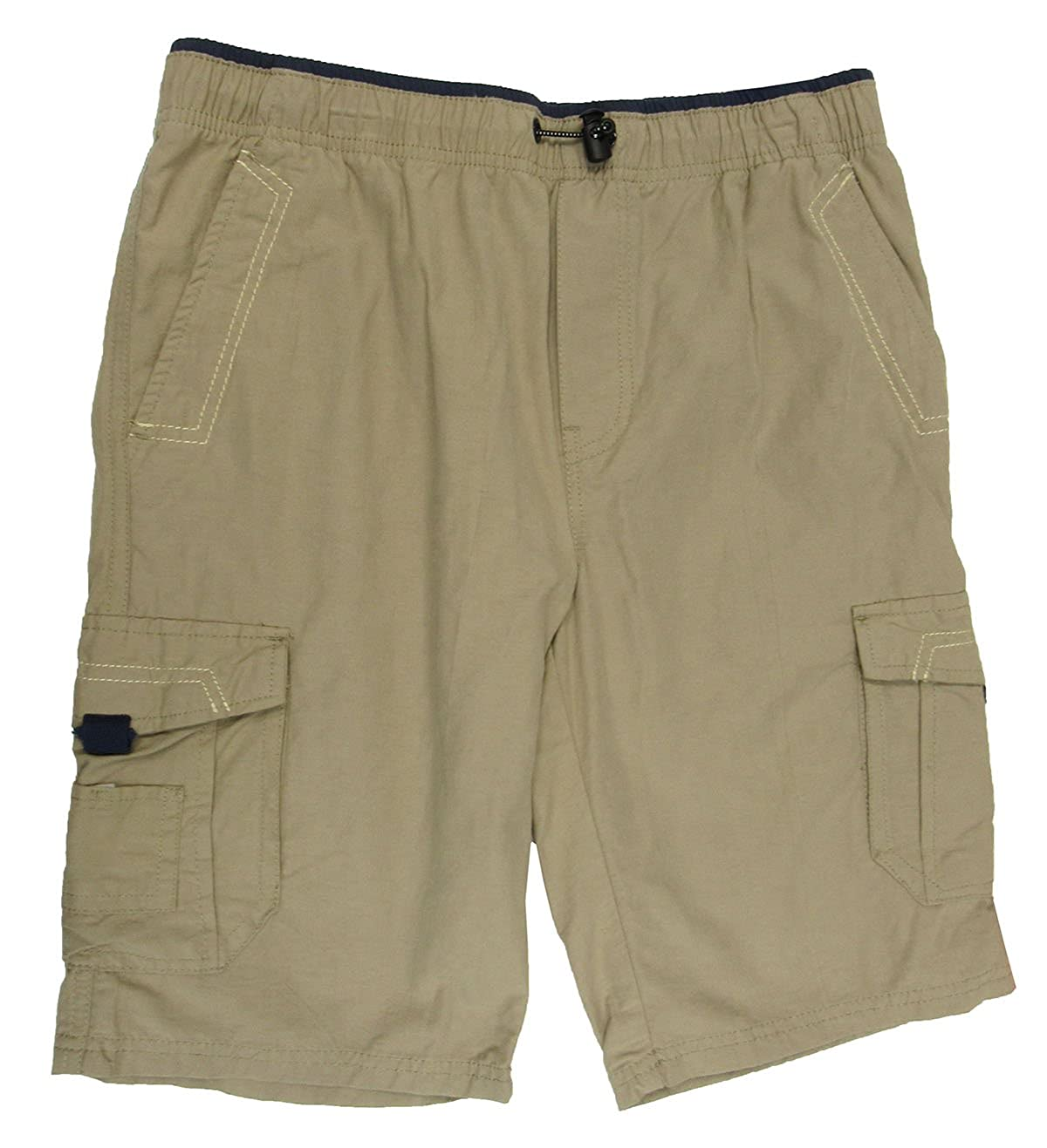Univibe Big Boys Scout Cargo Shorts Sand Small 8-20