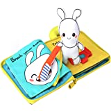 Beiens 9 Theme My Quiet Books - Ultra Soft Baby Books Touch and Feel Cloth Book, 3D Books Fabric Activity for Baby /Toddler, Learning to Sensory Book、Identify Skill Boys and Girls, Toddler Busy Book