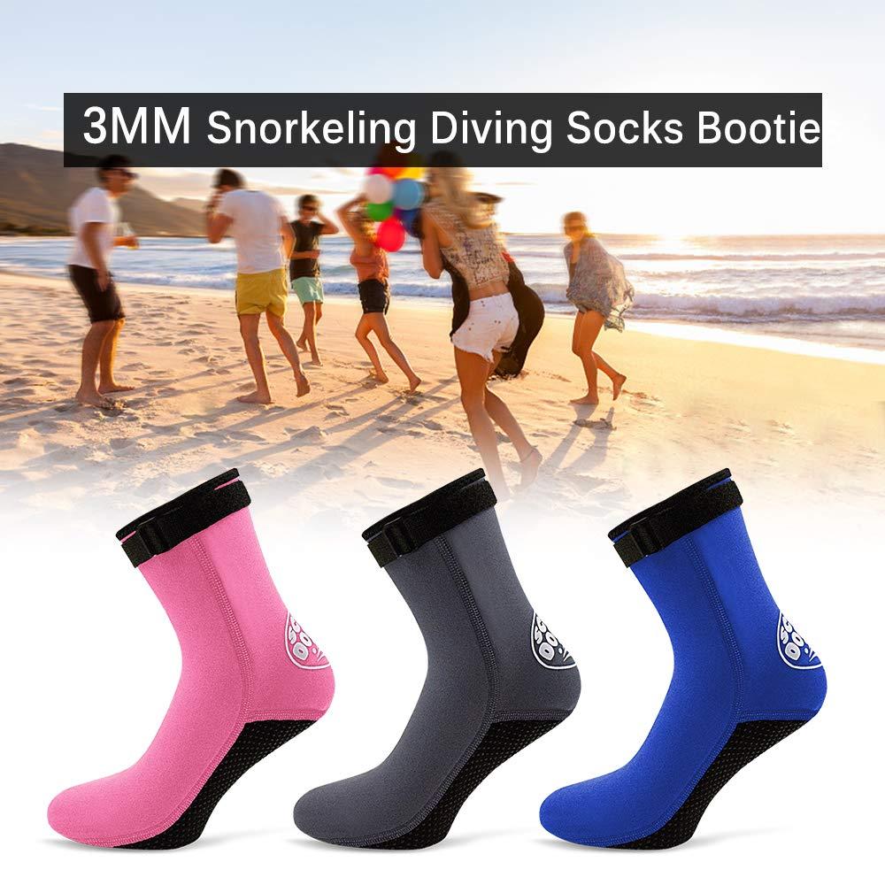 Lixada 3MM Calcetines de Buceo de Neopreno Snorkel Buceo Botas de Surf para  Hombres Mujeres  Amazon.es  Deportes y aire libre 8944aa92238