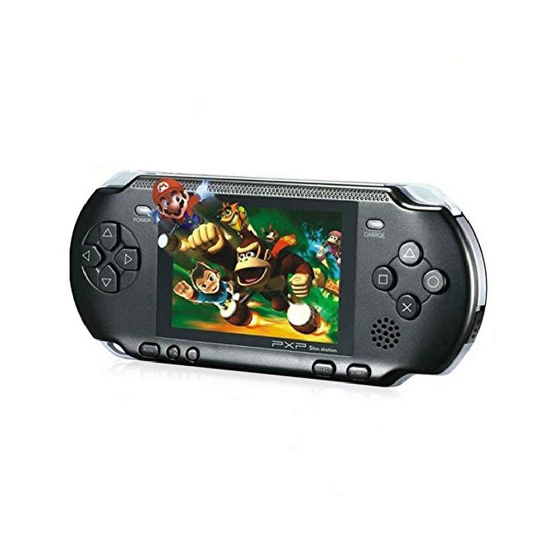 qiaoniuniu Handheld Game Console Kids Gift 16 Bit Portable Classic Video Games 150 Games Retro MD Paly Games PXP3 (Color: Black) by qiaoniuniu (Image #1)