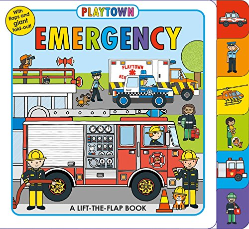 Playtown: Emergency: A Lift-the-Flap book - Buy Online in