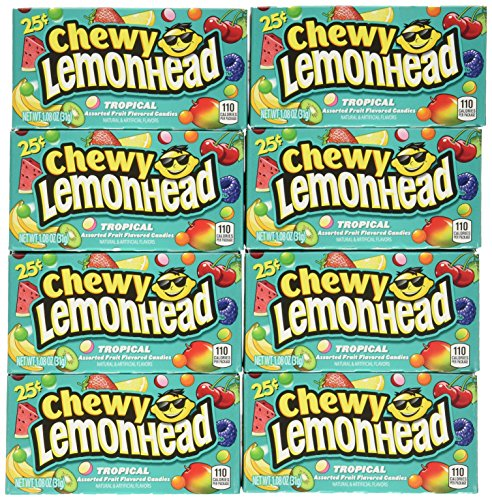 Chewy Lemonheads and Friends Tropical 25c 24 Pack