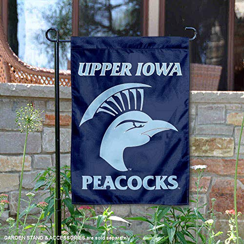 College Flags and Banners Co. UIU Peacocks Garden Flag