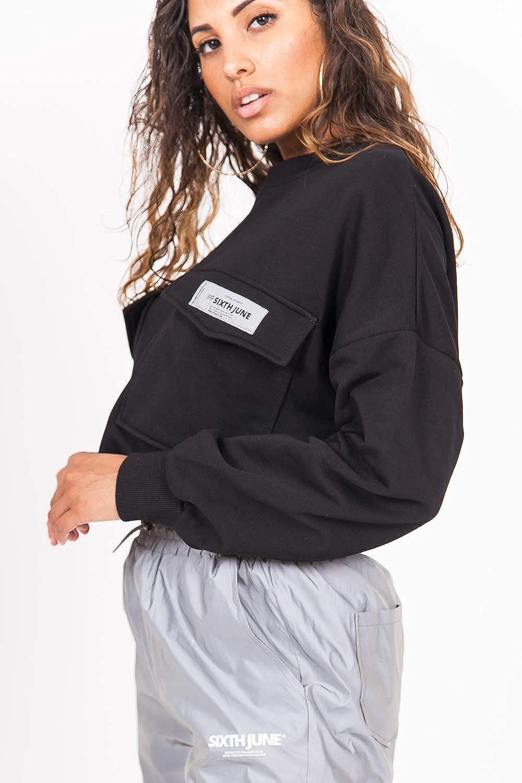 Sixth June Cargo Sweatshirt Felpa Donna