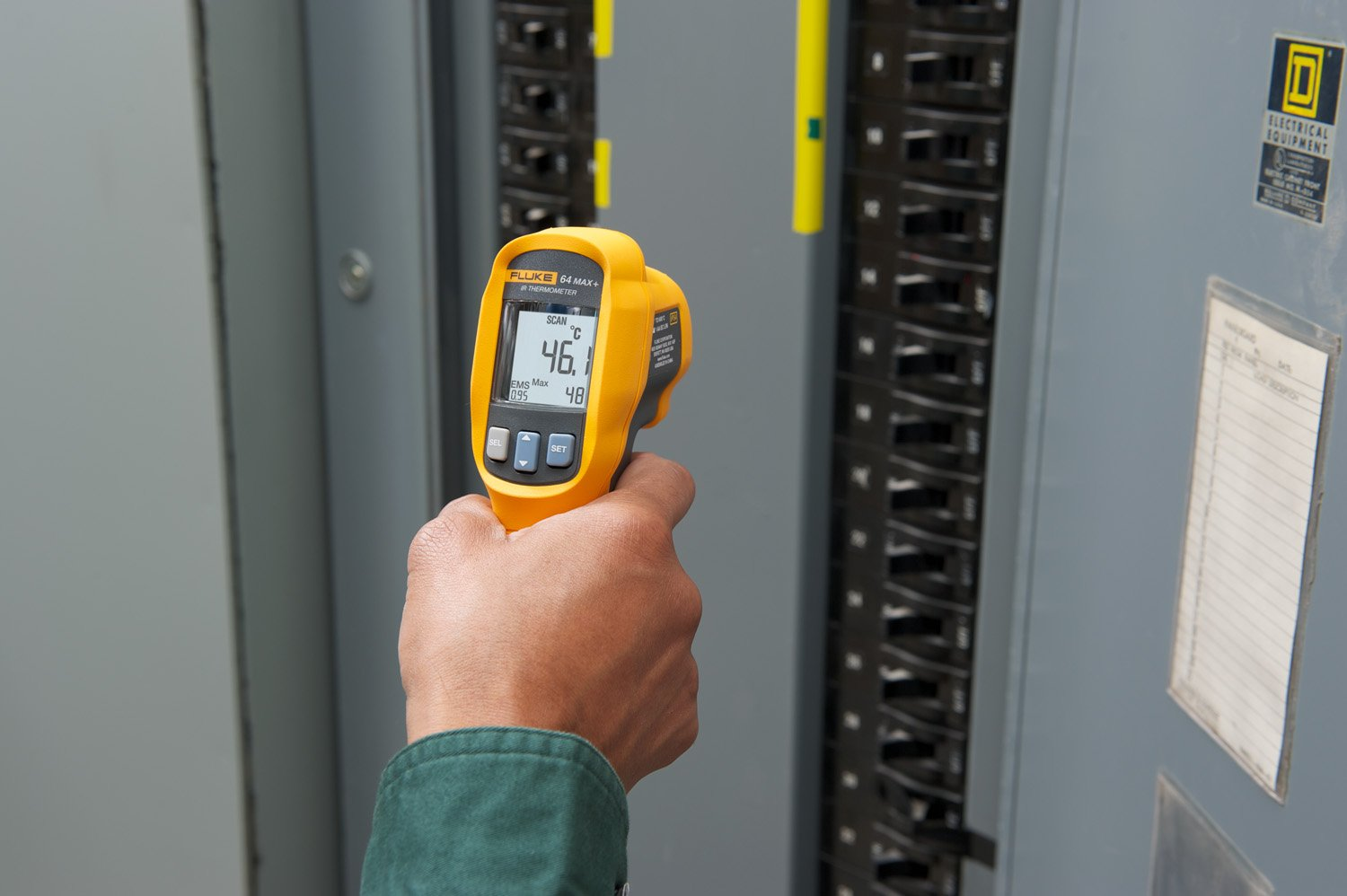 Fluke 64 Max Infrared Thermometer, Multi-Functional, -22 to 1112 °F Range: Amazon.com: Industrial & Scientific