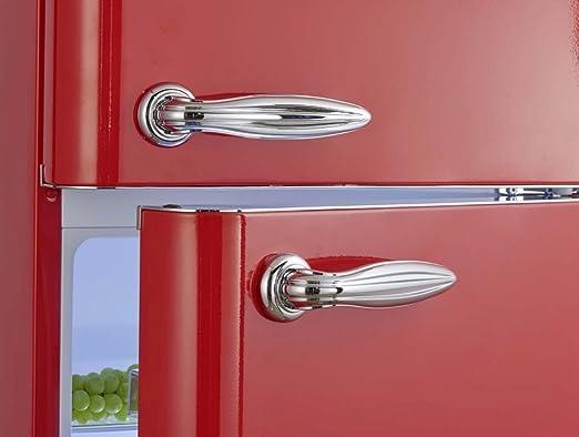 Retro Kühlschrank Schaub Und Lorenz : Retro kühlschrank feuerrot glanz a kühl gefrierkombi schaub